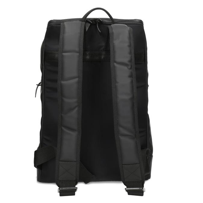 Minimalistický černý batoh vagabond, černá, 961-6049 - 16