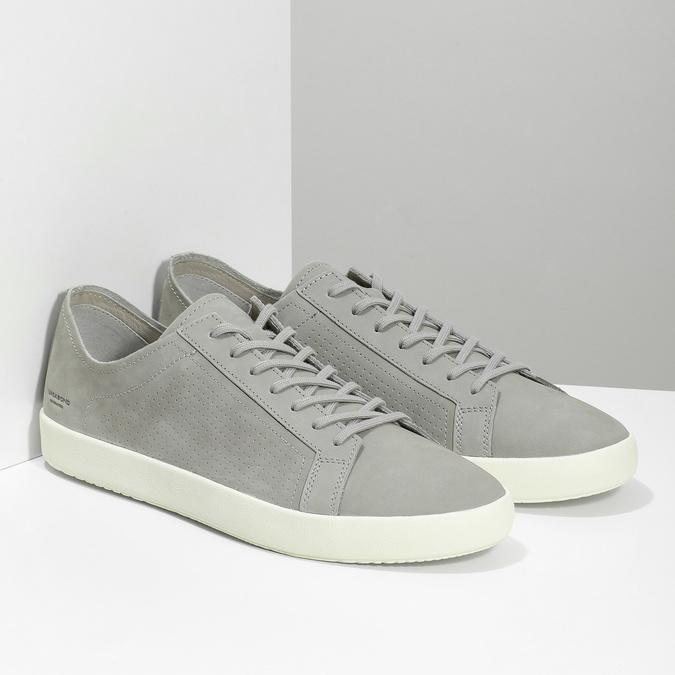 Pánské kožené tenisky šedé vagabond, šedá, 826-2020 - 26