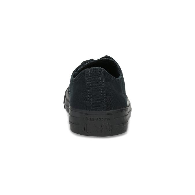 Černé plátěné tenisky dámské converse, černá, 589-6179 - 15