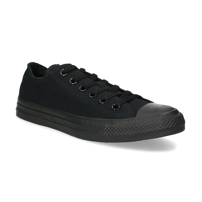 Černé plátěné tenisky dámské converse, černá, 589-6179 - 13