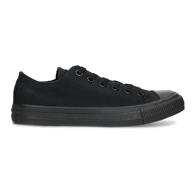 Černé plátěné tenisky dámské converse, černá, 589-6179 - 19