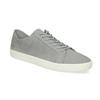 Pánské kožené tenisky šedé vagabond, šedá, 826-2020 - 13