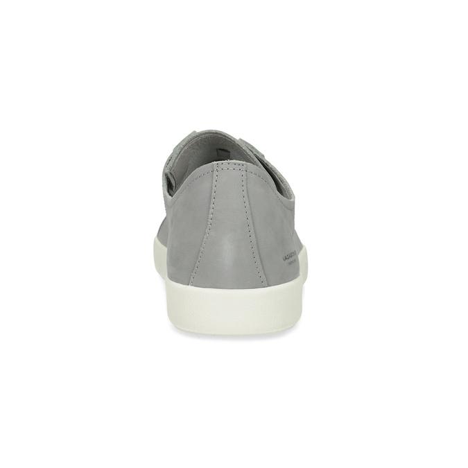 Pánské kožené tenisky šedé vagabond, šedá, 826-2020 - 15