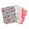 Dámský šátek s plameňáky bata, vícebarevné, 909-0376 - 13