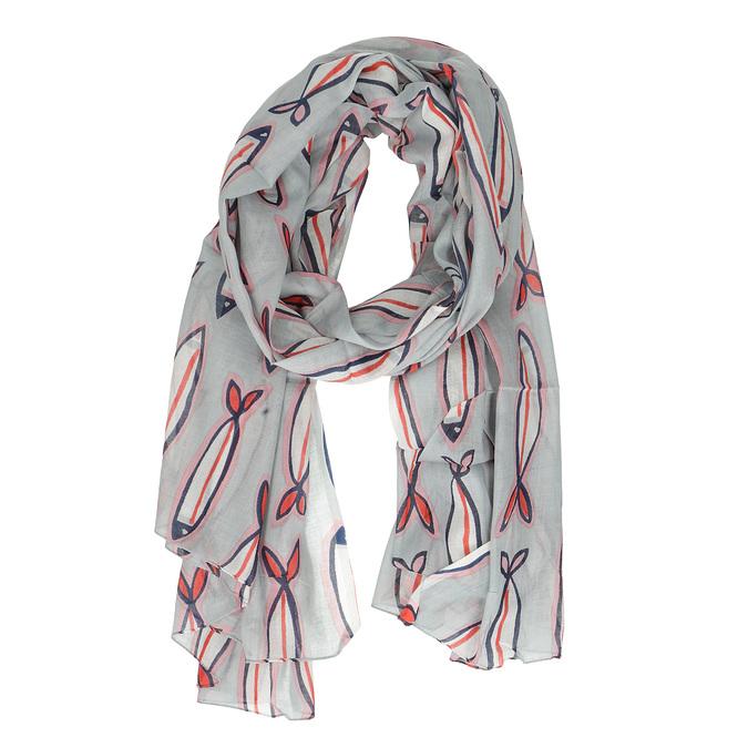 Dámský šátek s plameňáky bata, vícebarevné, 909-0376 - 26