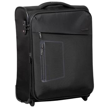Malý textilní kufr roncato, černá, 969-6712 - 13