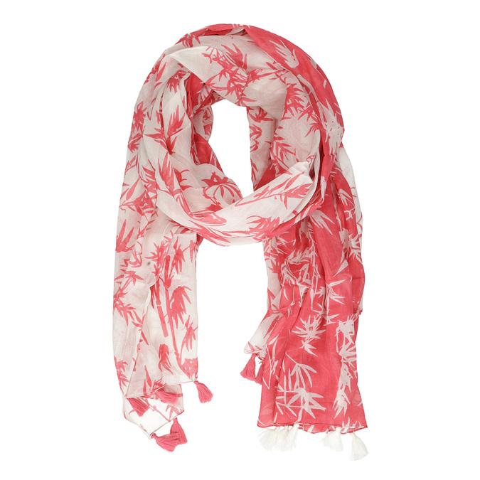 Dámský šátek s plameňáky bata, vícebarevné, 909-0376 - 15