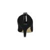Černé dámské lodičky s lesklou špičkou insolia, černá, 629-6641 - 15