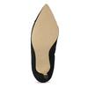 Černé dámské lodičky s lesklou špičkou insolia, černá, 629-6641 - 18