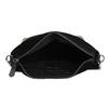 Kožená černá kabelka v Hobo stylu bata, černá, 963-6600 - 15