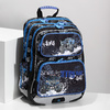 Školní batoh Monster Truck bagmaster, modrá, 969-9713 - 17