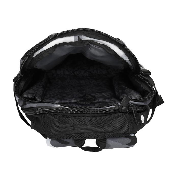 Maskáčový šedý školní batoh bagmaster, šedá, 969-2718 - 15