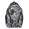 Maskáčový šedý školní batoh bagmaster, šedá, 969-2718 - 26