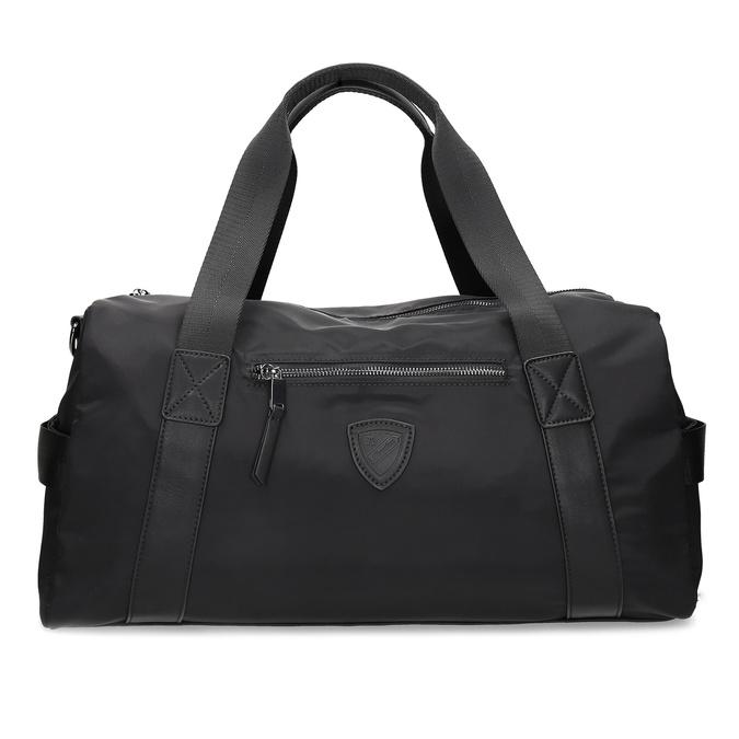 Černá cestovní taška s popruhem atletico, černá, 969-6690 - 26