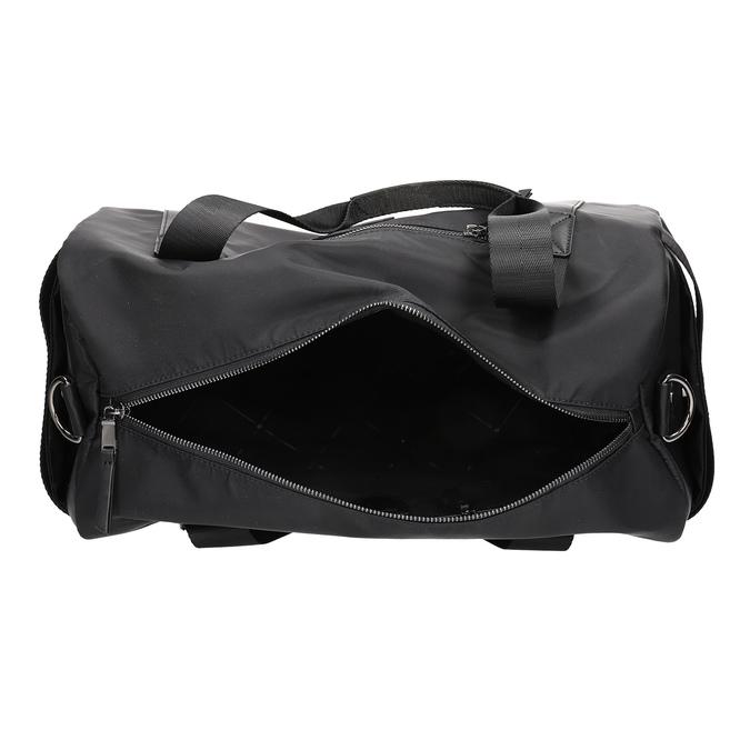 Černá cestovní taška s popruhem atletico, černá, 969-6690 - 15