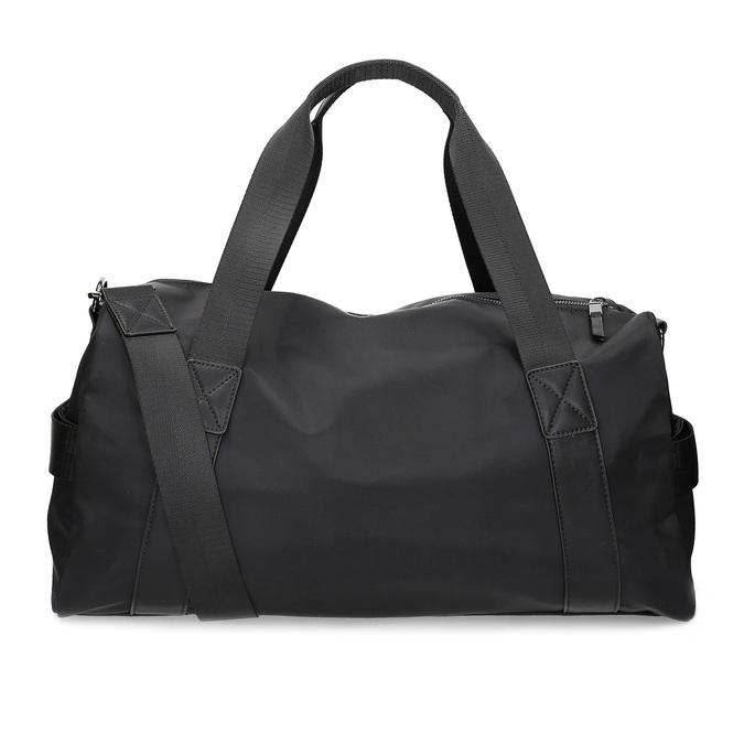 Černá cestovní taška s popruhem atletico, černá, 969-6690 - 16