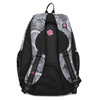 Černo-bílý školní batoh bagmaster, šedá, 969-2719 - 16
