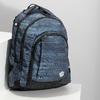 Tmavě šedý školní batoh bagmaster, šedá, 969-2722 - 17