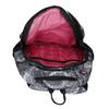 Černo-bílý školní batoh bagmaster, šedá, 969-2719 - 15