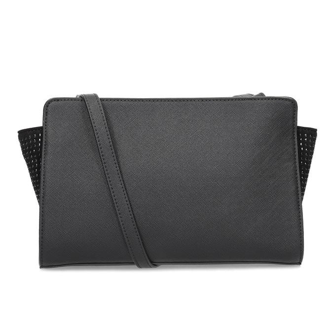 Černá kabelka crossbody s kamínky bata, černá, 961-6885 - 16