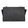 Černá kabelka crossbody s kamínky bata, černá, 961-6885 - 26