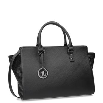 Černá kabelka s kamínky bata, černá, 961-6881 - 13