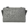 Crossbody kabelka s kamínky bata, šedá, 961-1885 - 26