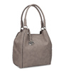 Béžová kabelka s přívěsky gabor-bags, béžová, 961-8030 - 13