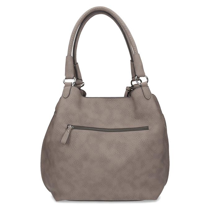 Béžová kabelka s přívěsky gabor-bags, béžová, 961-8030 - 16