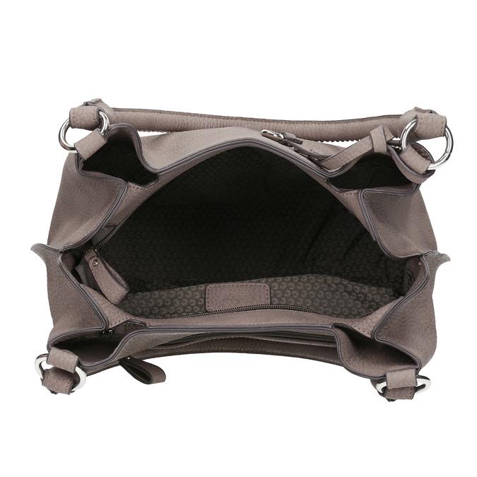 Béžová kabelka s přívěsky gabor-bags, béžová, 961-8030 - 15