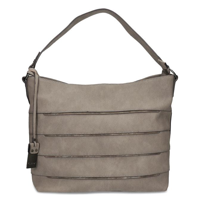 Béžová kabelka s metalickými detaily gabor-bags, béžová, 961-8001 - 26
