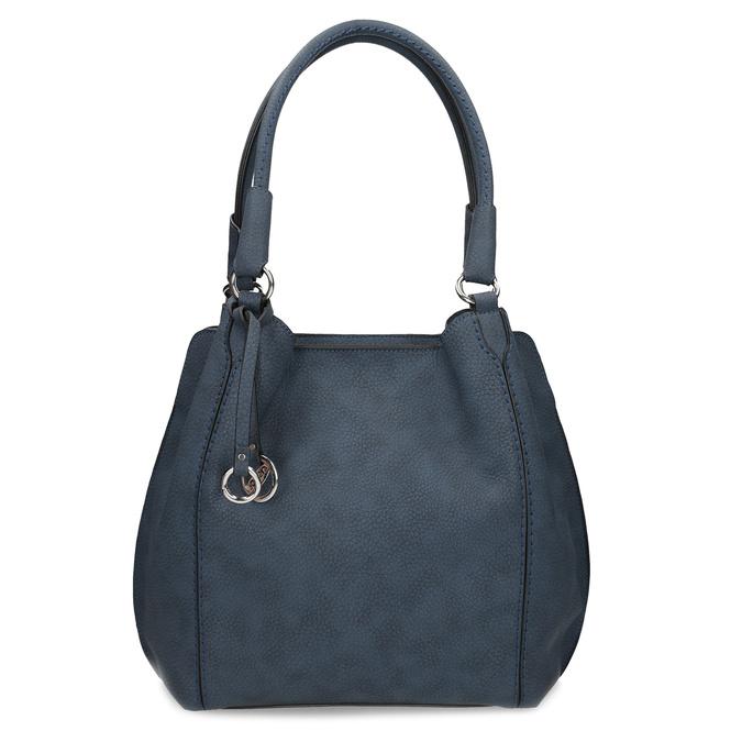 Tmavě modrá dámská kabelka gabor-bags, modrá, 961-9024 - 26