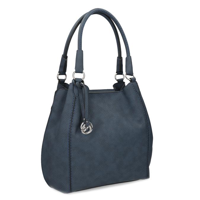 Tmavě modrá dámská kabelka gabor-bags, modrá, 961-9024 - 13
