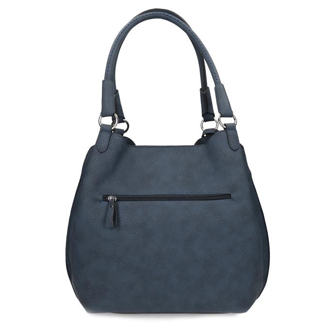 Tmavě modrá dámská kabelka gabor-bags, modrá, 961-9024 - 16