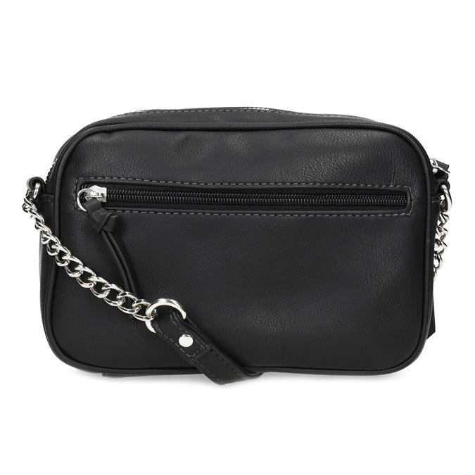 Crossbody kabelka s prošitím černá gabor-bags, černá, 961-6075 - 16
