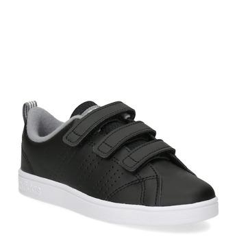 Dětské černé tenisky na suché zipy adidas, černá, 301-6268 - 13
