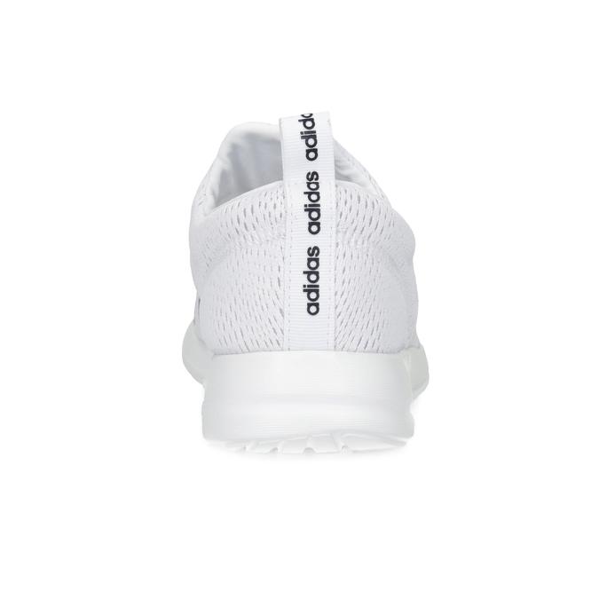 Dámské bílé tenisky s elastickým pásem adidas, bílá, 509-1565 - 15