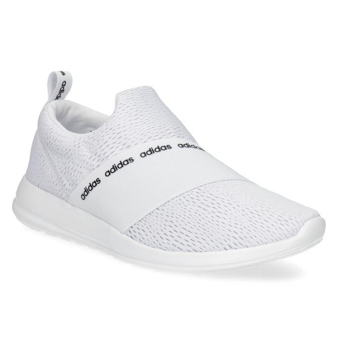 Dámské bílé tenisky s elastickým pásem adidas, bílá, 509-1565 - 13