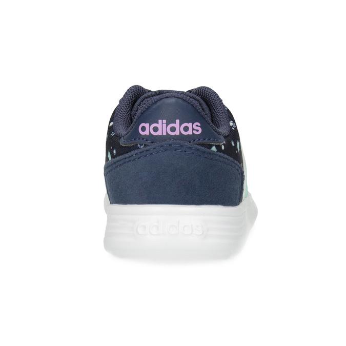 Modré dětské tenisky se vzorem adidas, modrá, 109-9200 - 15