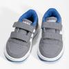 Šedé dětské tenisky s modrými detaily adidas, šedá, 101-2194 - 16