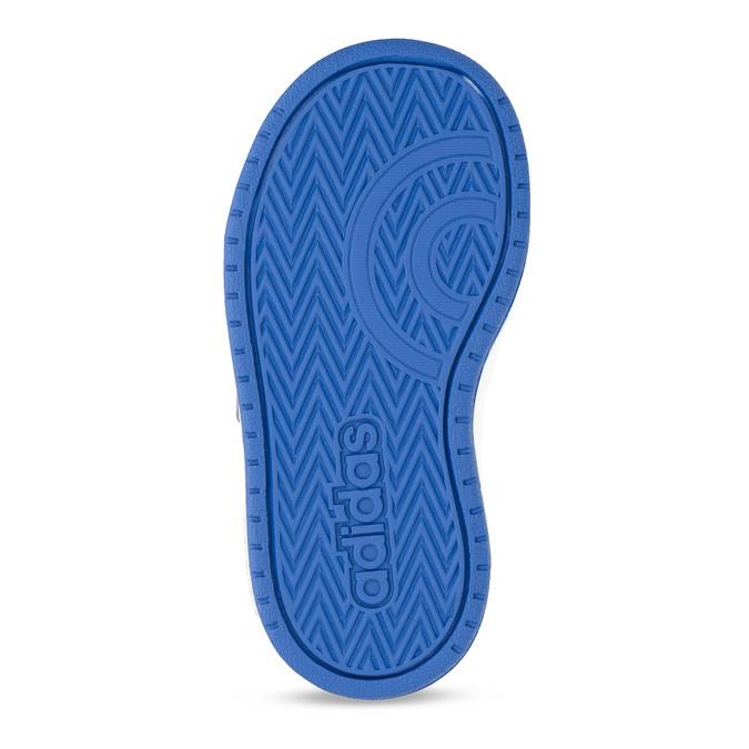 Šedé dětské tenisky s modrými detaily adidas, šedá, 101-2194 - 18
