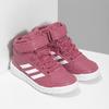 Růžové dětské kotníčkové tenisky adidas, růžová, 301-5220 - 26
