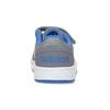 Šedé dětské tenisky s modrými detaily adidas, šedá, 101-2194 - 15