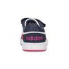 Bílé dětské tenisky na suché zipy adidas, bílá, 101-1194 - 15