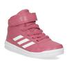 Růžové dětské kotníčkové tenisky adidas, růžová, 301-5220 - 13