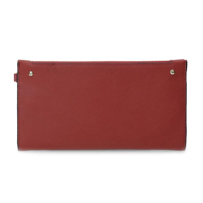 Dámská červená peněženka s řemínkem bata, červená, 941-5217 - 26