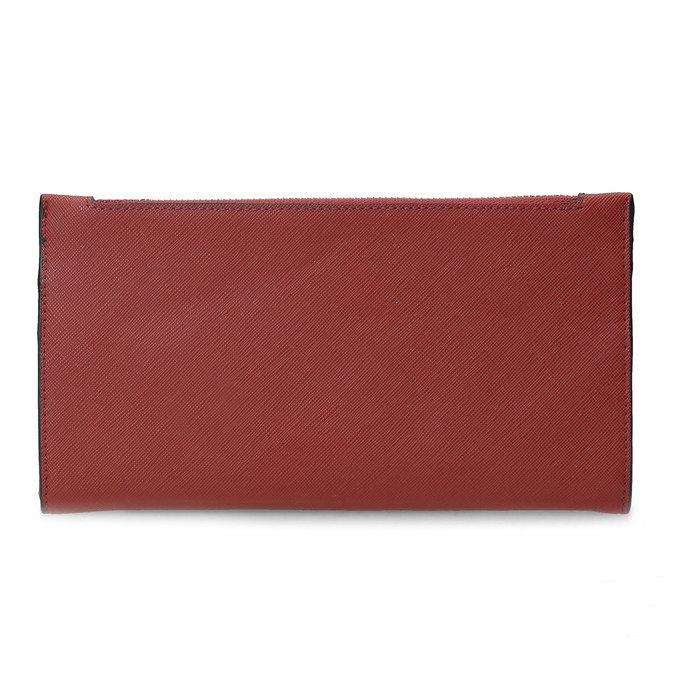 Dámská červená peněženka s řemínkem bata, červená, 941-5217 - 16