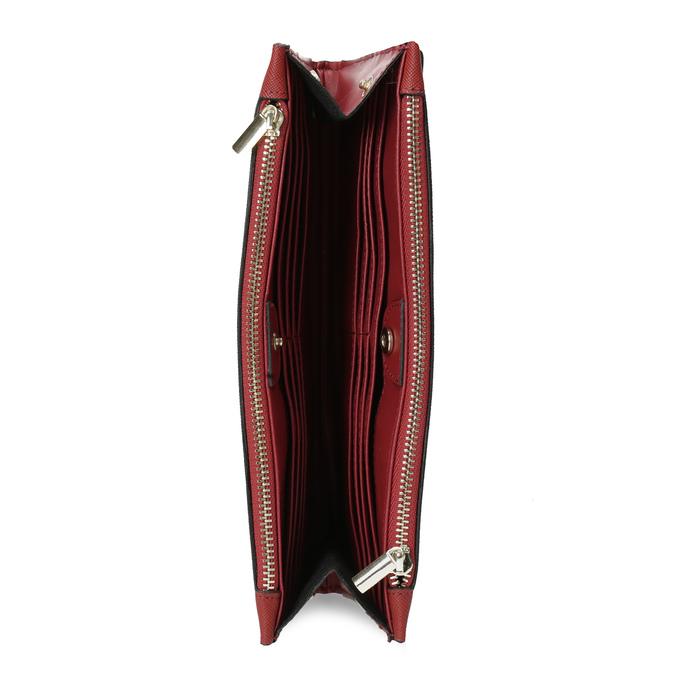 Dámská červená peněženka s řemínkem bata, červená, 941-5217 - 15