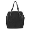 Černá kabelka ve stylu Tote s kamínky bata, černá, 969-6875 - 26
