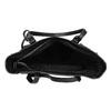 Černá kabelka ve stylu Tote s kamínky bata, černá, 969-6875 - 15